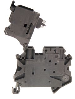 UT Terminal Fuse Hesiled 4mm 6.3A - LED  12-30VAC