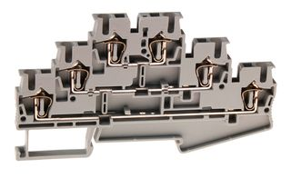 ST Terminal TrIPle Level 2.5mm 1 In  /1 out x3 28A