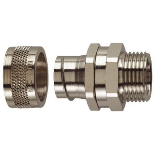 Conduit Fitting Straight 20mm 20mm Thread IP54