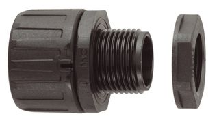 Conduit Fitting Straight 16 mm 20 Thread IP66