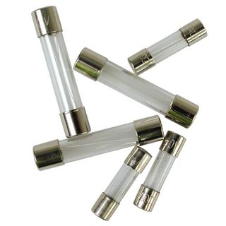 Glass Fuse  2.5A 5x20mm Packet of 10