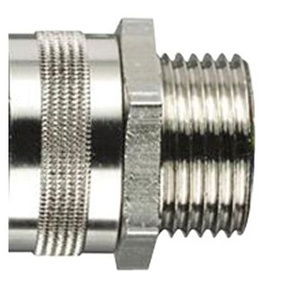 Conduit Fitting Straight 25mm 25mm Thread IP54