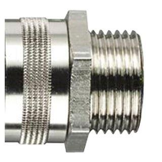 Conduit Fitting Straight 16mm 20mm Thread IP54