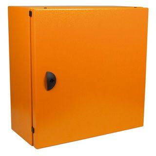 Enclosure Mild Steel X15 Orange 400x400x200