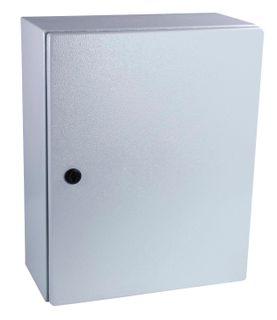 Enclosure Mild Steel RAL7035 Grey 300x300X150