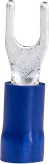 Spade Termi Blue 1.5-2.5mm  3.5mm Stu 27A 100 PKT