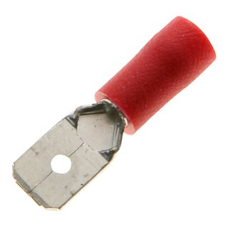Spade Termi Red 0.5-1.5mm  3.7mm Stud 19A 100 PKT