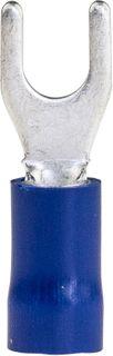 Spade Termi Blue 1.5-2.5mm 4mm Stud 27A 100 PKT