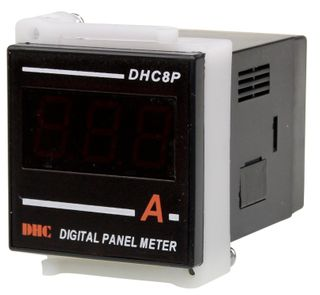 Ammeter 5A CT Operated 48x48 Digital