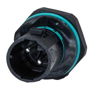 P-Mount Male Plug 5P 36.5 Dia x 70 0.5 - 4.0 17.5A