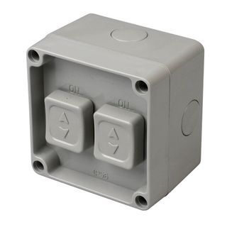 Isolator Enclosed IP56 2 Gang 20A
