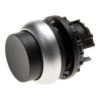 Pushbutton Extended Black
