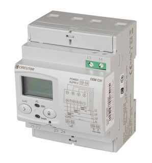 kWh Meter 3phase Ct Operated RS485 MODBUS 54mm