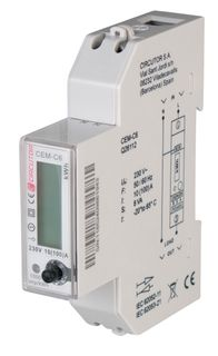 kWh Meter 1phase Direct RS485 MODBUS 18mm