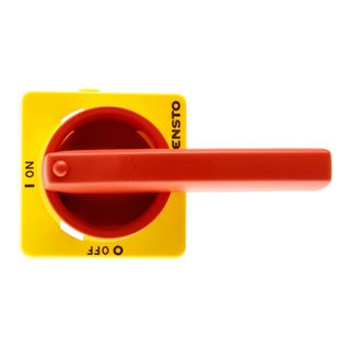 Load Break Switch Hand IP65 Red/Yellow pistol grip