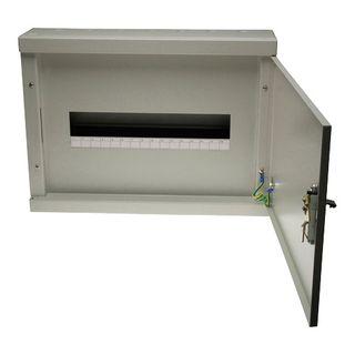 Load Centre Metal 5 x 16 Poles Grey 950x440x120