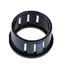 Nylon Snap Bushing Black 22 Hole 17.3 100 Pkt