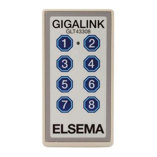 Transmitter 8-Channel C/W Membrane + Elsema Label