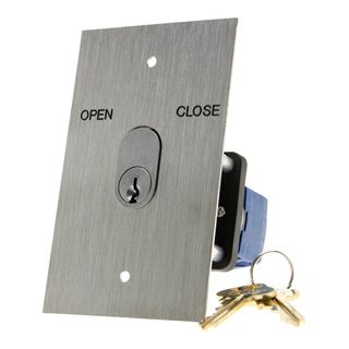 Key Switch Raise/Off/Lower with S/Steel Plate