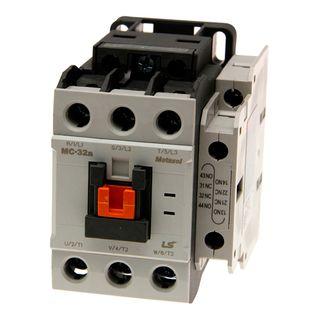 Contactor LS Electric 15kW 32A 240VAC 1NO 1NC