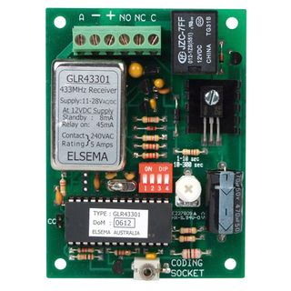 1-Channel Receiver 11-28 VAC/DC Supply