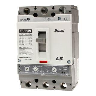 MCCB LS Electric 64-160A 50kA Electronic 3P