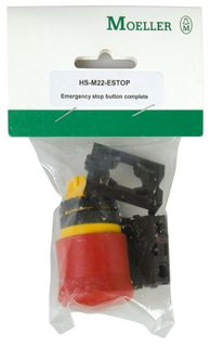 Pushbutton Hang Sell E/Stop + Adaptor 1N/C