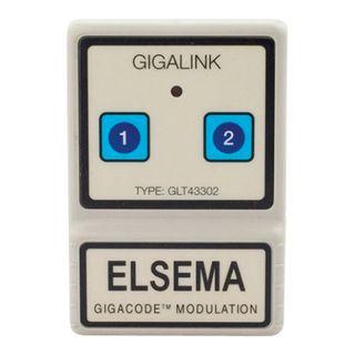 Transmitter 2-Channel C/W Membrane + Elsema Label