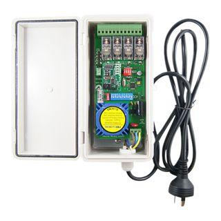 Receiver 4 Channel Supply 240VAC c/w IP66 Case
