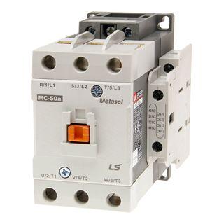 Contactor LS Electric 22kW 50A 240VAC 2NO 2NC