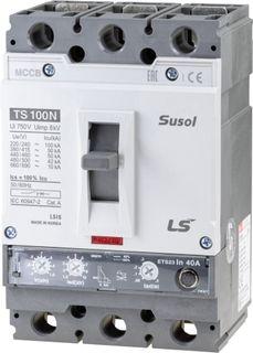 MCCB LS Electric 64-160A 65kA Electronic 3P