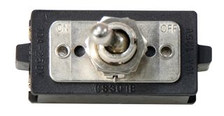 Toggle Switch 10A DPST Heavy Duty 1HP