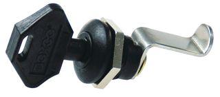 Enclosure Accessory Hinged Key Lock Nylon