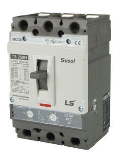 MCCB LS Electric 100-250A 50kA Electronic 3P