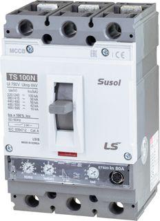 MCCB LS Electric 32-80A 50kA Electronic 3P
