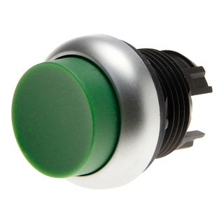 Pushbutton Extended Green