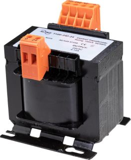 Transformer 100VA 240VAC in 24VAC out