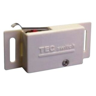 Pantry Door Switch White SPDT 10A 240V
