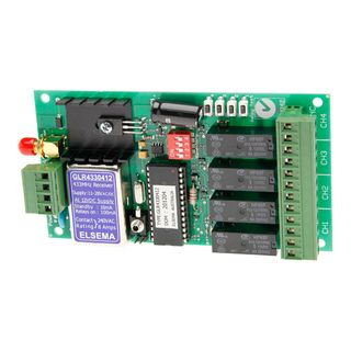 4 Channel 11-28 VAC/DC Receiver