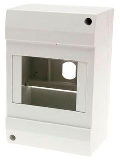 Enclosure MCB 4 Pole Plastic 130x62x87