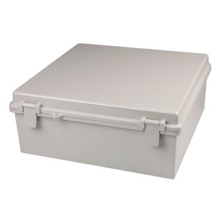 Enclosure Poly Grey  Body - Hinged lid 90x120x70