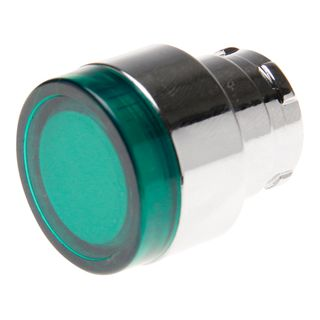 Pushbutton Illuminated Green