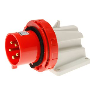 90 Deg Appliance Inlet 16A 415VAC 3P+N+E
