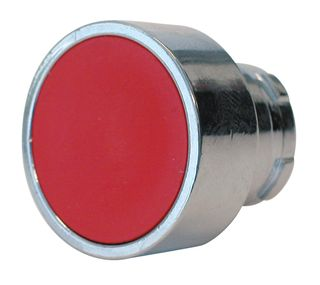 Pushbutton Red spring return