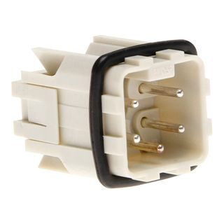 Socket Inserts 4P+E 10A Male Plug Outlet Insert