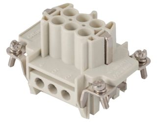 Socket Inserts 6P+E 16A Male Plug Outlet Insert