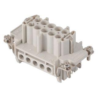 Socket Inserts 16P+E 16A Male Plug Out No 17-32