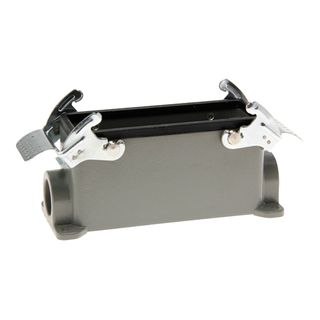 Housing 24P Alum Alloy Surf Mount with 2 Levers