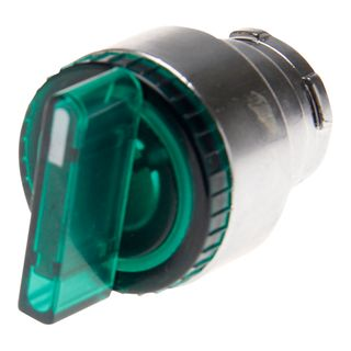 Selector Switch Illuminated 3 Position Green