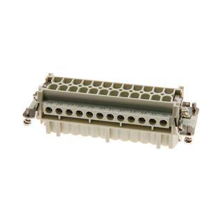 Socket Inserts 24P+E 16A Male Socket Out No 1-24